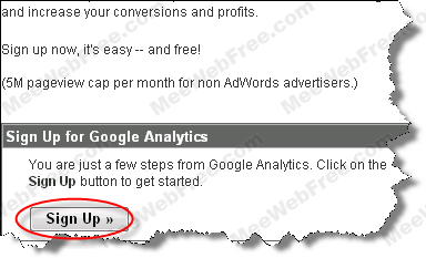 Google Analytic web track user