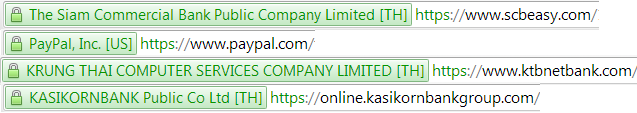 ssl certificate green bar