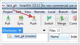 การ push git repository ขึ้น server