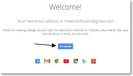 เริ่มใช้งาน Gmail